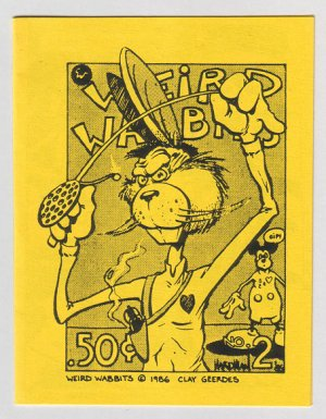 WEIRD WABBITS #2 mini-comic D. TOSH Garry Hardman comix 1989