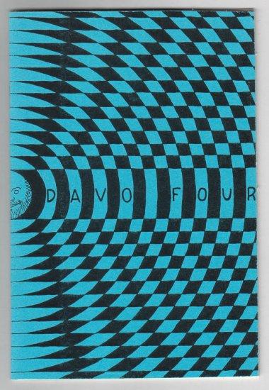 DAVO #4 mini-comic D. TOSH sketchbook proof copy 1987