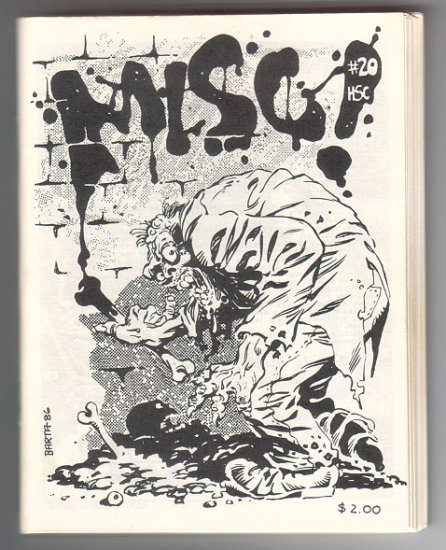 MISC #20 mini-comic BARTA Feazell DISSMEYER Bolman WILLIS 1986