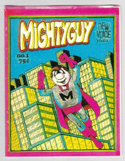 MIGHTYGUY #1 mini-comic TIM CORRIGAN 1997