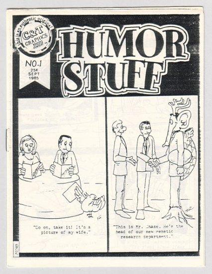 HUMOR STUFF #1 mini-comic TIM CORRIGAN 1985