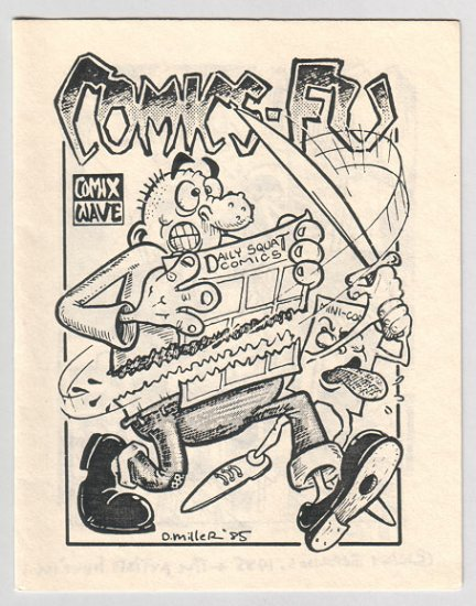 COMICS-FU mini-comix PAR HOLMAN David Miller 1985