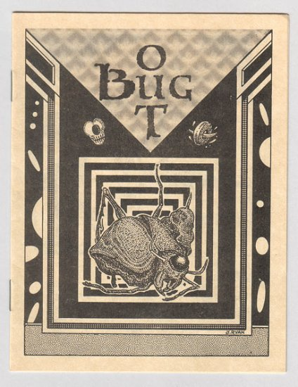 BUG OUT mini-comix JIM SIERGEY Roldo JIM RYAN 1983