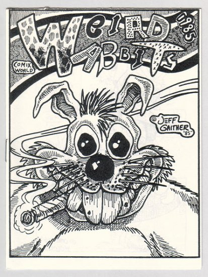 WEIRD WABBITS #1 mini-comix JEFF GAITHER Bob Vojtko GARRY HARDMAN 1986