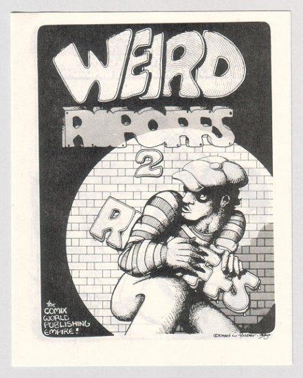 WEIRD RIPOFFS #2 mini-comix BRAD FOSTER 1980 underground
