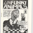 UNFUNNY ANIMALS mini-comix LARRY GONICK David Miller JIM RYAN 1981