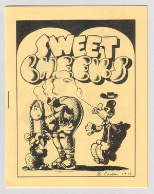 SWEET CHEEKS #1 mini-comix TOM BRINKMANN Brad Foster LARRY TODD 1980