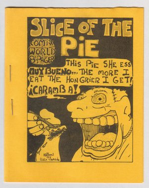 SLICE OF THE PIE mini-comic ALEX TAMSULA 1979 dope humor