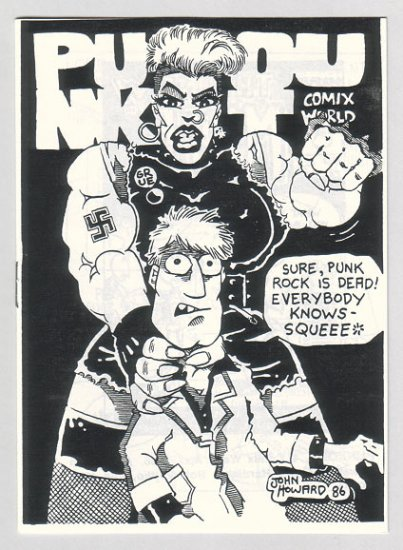 PUNK OUT mini-comic JOHN HOWARD Bob Vojtko GARRY HARDMAN 1986