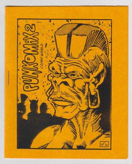 PUNKOMIX #2 mini-comix JIM SIERGEY Brad Foster BOB VOJTKO 1982