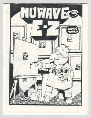 NUWAVE MADE E-Z mini-comic JOHN HOWARD 1983