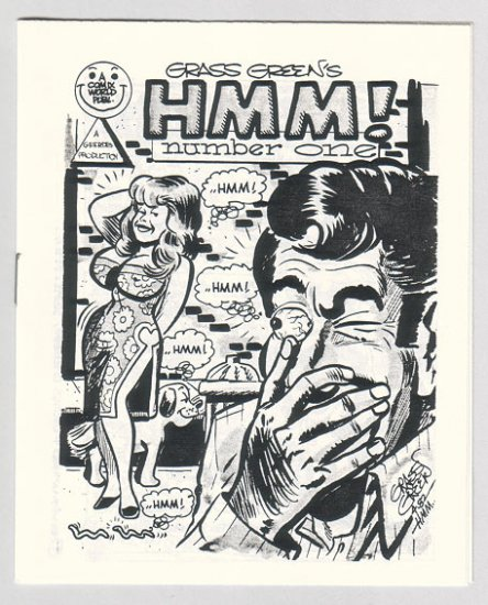 HMM #1 mini-comic GRASS GREEN 1982 Comix World