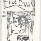 FRIED BRAINS #22 mini-comic WILLIAM DOCKERY underground comix minicomic 1986