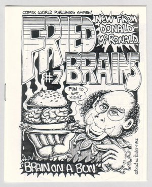 FRIED BRAINS #7 mini-comic PARSONAVICH Brad Foster 1982