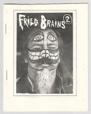 FRIED BRAINS #2 mini-comic DOUGLAS BRYSON Bob Vojtko BILL SHUT 1979