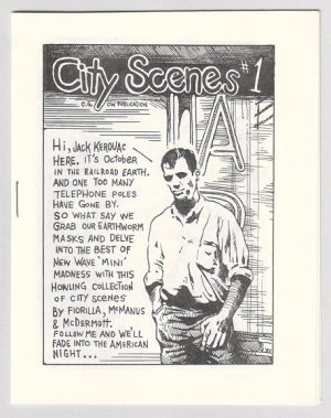 CITY SCENES #1 mini-comic STEVE FIORILLA Shawn McManus 1982