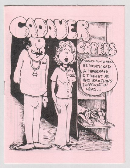 CADAVER CAPERS #1 mini-comic DAVID MILLER Brad Caslor 1980