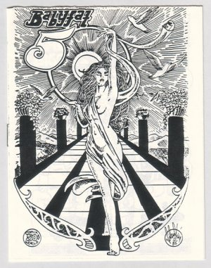 BABYFAT #50 mini-comic JIM VALENTINO Brad Foster GARRY HARDMAN 1985