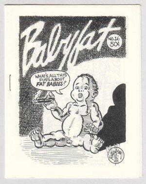 BABYFAT #16 mini-comix VALENTINO Clark Dissmyer 1980