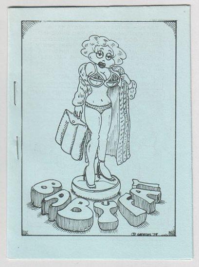 BABYFAT #9 mini-comic BRAD FOSTER Jim Siergey BRUCE CHRISLIP 1979