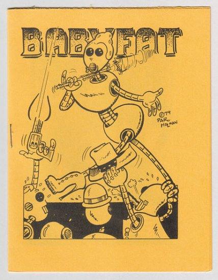 BABYFAT #7 mini-comix PAR HOLMAN Brad Foster 1979