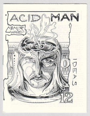 ACID MAN #12 mini-comic ROBERT PASTERNAK 1990 Comix Wave