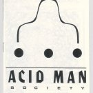 ACID MAN SOCIETY #nn mini-comic ROBERT PASTERNAK Canadian underground comix