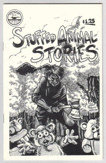 STUFFED ANIMAL STORIES mini-comic EDWARD BOLMAN Bill Fitts CHUCK BUNKER 1985
