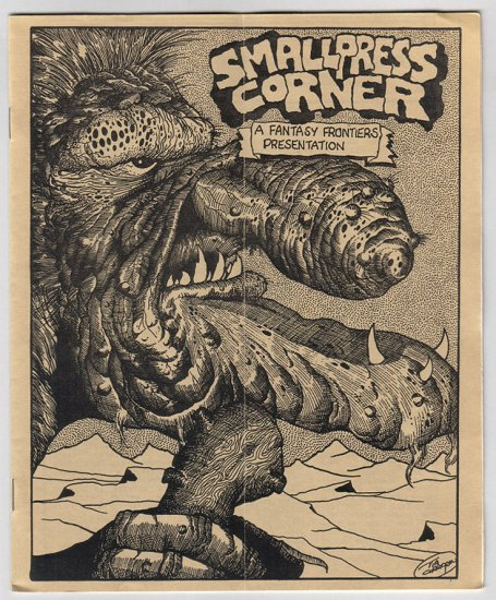 SMALL PRESS CORNER minicomics reviews TIM CORRIGAN Matt Feazell 1988
