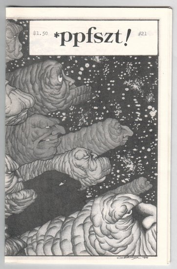 PPFSZT #21 mini-comic BRAD FOSTER Tim Corrigan LARRY BLAKE 1989