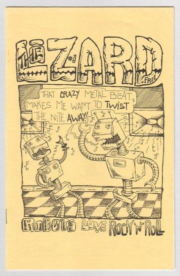 THE LIZARD #1 mini-comix MIKE URBAN 1983