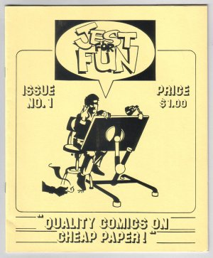 JEST FOR FUN #1 mini-comix NED SONNTAG Ken Struck ANDY ENG Bob Supina 1987