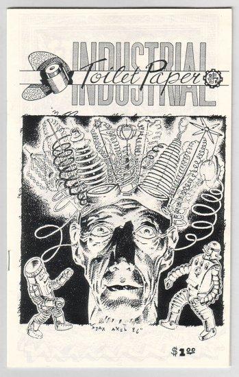 INDUSTRIAL TOILET PAPER #3 mini-comix MICHAEL RODEN Steve Willis BOB X 1989