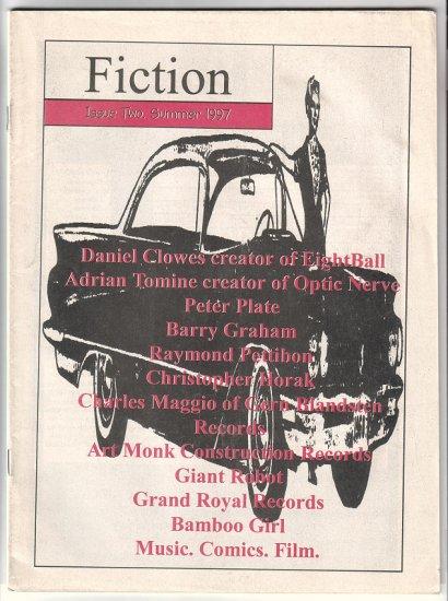 FICTION #2 Adrian Tomine RAYMOND PETTIBONE Daniel Clowes 1997