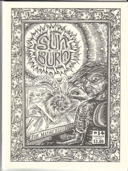 SUNBURN #14 Canadian mini-comics anthology JIM SIERGEY Robert Pasternak GLENN SMITH 2000