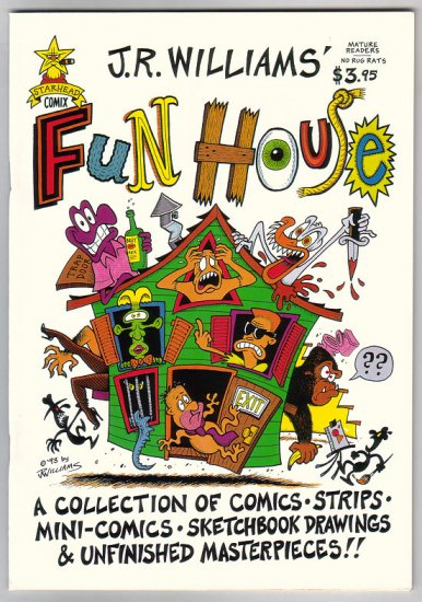 FUN HOUSE comix J.R. WILLLIAMS Steve Willis 1993