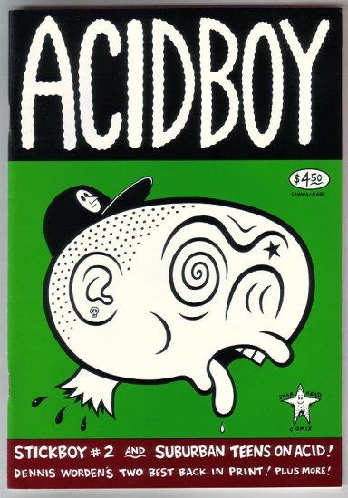ACIDBOY comix DENNIS WORDEN Stickboy 1996