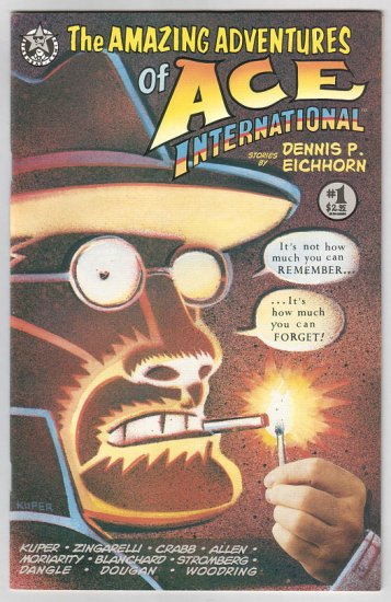 ACE INTERNATIONAL #1 comix JIM WOODRING Peter Kuper JIM BLANCHARD Mats 1993