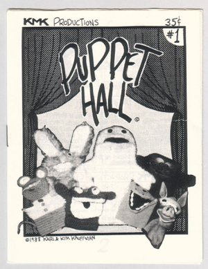 KMK mini-comics LOT of 5 Kauffman puppets 1988