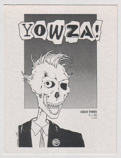 YOWZA comix postcard set TIM CORRIGAN D. Tosh