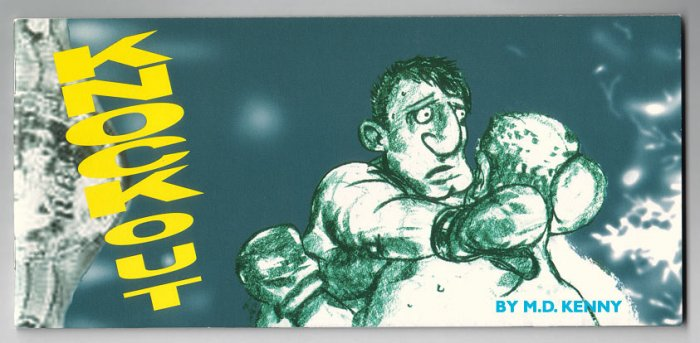 KNOCKOUT mini-comic MICHAEL DAEDALUS KENNY 1999 Robot Publishing