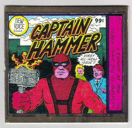 CAPTAIN HAMMER #1 mini-comic TIM CORRIGAN 1997