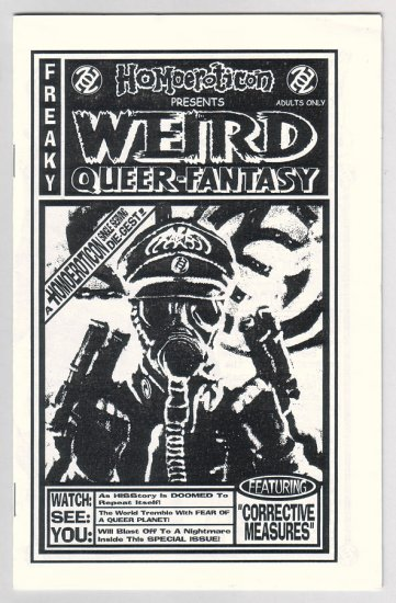WEIRD QUEER-FANTASY mini-comic BOBBY TRAN DALE underground comix 2003