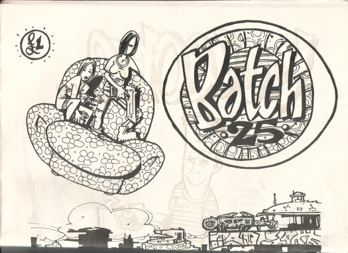 BATCH 25 #1 British tabloid mini-comic ANDY P Timmy B 1996
