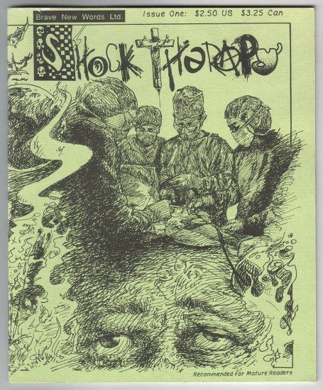 SHOCK THERAPY #1 mini-comic JOE E. 1990 comix