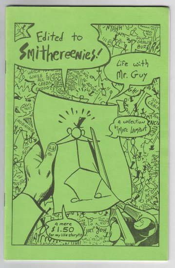 EDITED TO SMITHEREENIES mini-comic MARC LAMPORT 1988