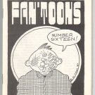 FAN&#39;TOONS #16 mini-comix JEFF GAITHER D. Tosh BILL FITTS Eric Mayer 1986