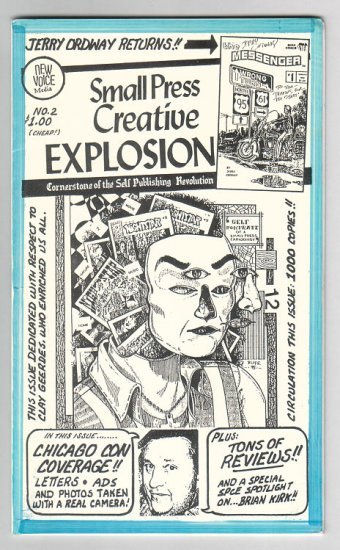 SMALL PRESS CREATIVE EXPLOSION #2 mini-comics reviews TIM CORRIGAN Larry Blake 1997