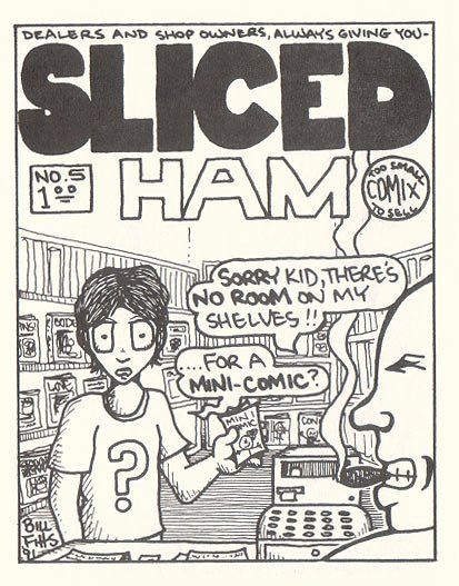 ALL-COVER COMICS #6 mini-comic BILL FITTS Gary Fields 1992