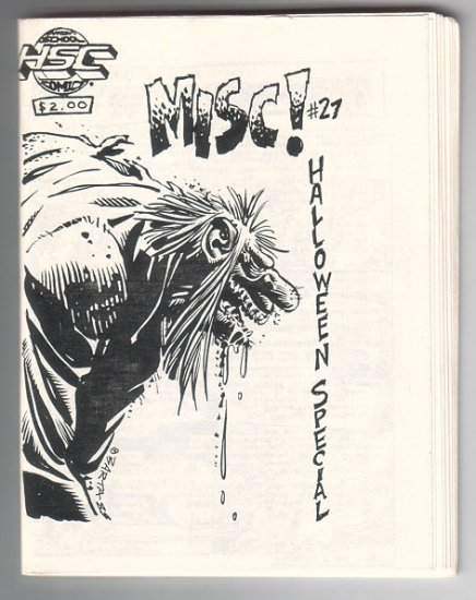 MISC #27 mini-comic HILARY BARTA Brad Foster JOE HUTCHINSON Chuck Bunker 1988